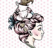 Tea Cup Lady by Creep Heart