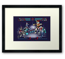 Northpole VS. Xmas  Framed Print