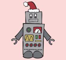 Santa Robot Kids Clothes