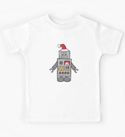 Santa Robot Kids Tee