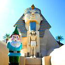Sphinx Gnome by DustysGnomes