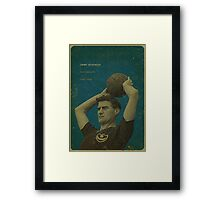 Jimmy Dickinson - Portsmouth Framed Print