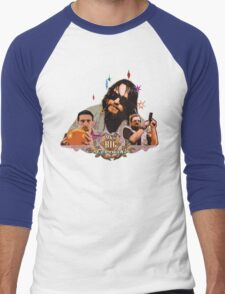 Big lebowski Collage Alternative Men's Baseball ¾ T-Shirt