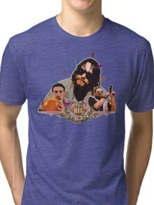 Big lebowski Collage Alternative Tri-blend T-Shirt