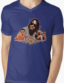 Big lebowski Collage Alternative Mens V-Neck T-Shirt
