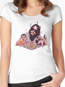 the dude and company Women's Fitted Scoop T-Shirt