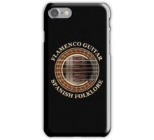 Flamenco Guitar Spanish Folklore iPhone Case/Skin