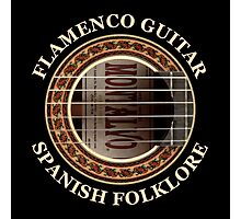 Flamenco Guitar Spanish Folklore Photographic Print