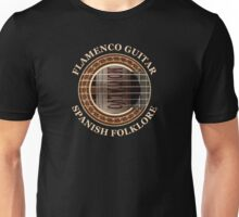 Flamenco Guitar Spanish Folklore Unisex T-Shirt