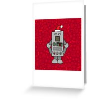 Santa Robot Greeting Card