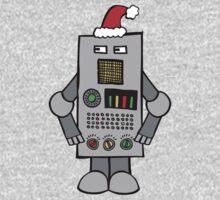 Santa Robot One Piece - Short Sleeve