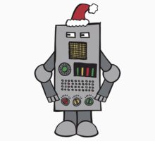 Santa Robot Kids Clothes