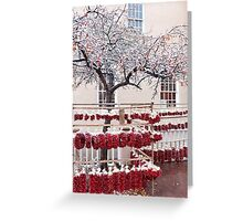 Streets of Chilli Greeting Card