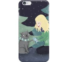 Giving Gifts at Christmas iPhone Case/Skin