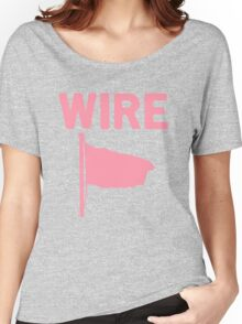 Wire - Pink Flag Women's Relaxed Fit T-Shirt