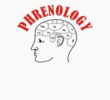 Phrenology Head Chart Unisex T-Shirt