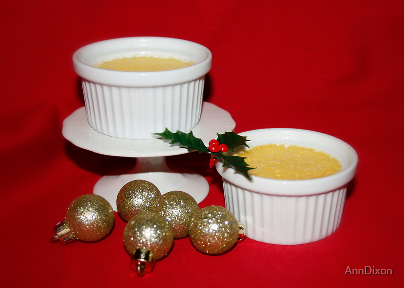 Homemade Creme Brulee by AnnDixon