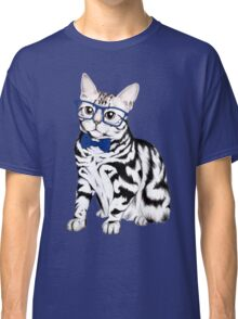 Hipster Cat Classic T-Shirt