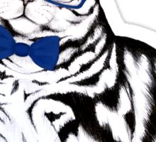 Hipster Cat Sticker