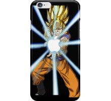 Dragonball Z Goku Kamehamapple iPhone Case/Skin