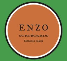 ENZO surfboards - bethells beach by dennis william gaylor