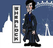 Sherlock Holmes BBC  by Rowans Designs