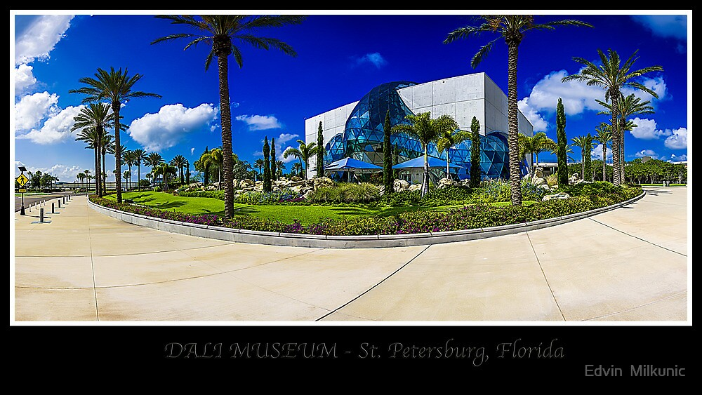 Dali Museum - St. Petersburg, Florida by Edvin  Milkunic