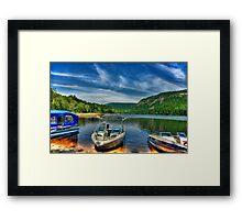 Ottawa River, Canada Framed Print