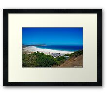 Long Beach, Noordhoek, Cape Peninsula, South Africa Framed Print