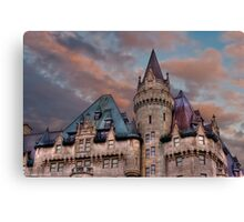 The Fairmont Chateau Laurier in Ottawa, Canada Canvas Print