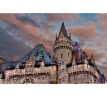 The Fairmont Chateau Laurier in Ottawa, Canada Photographic Print