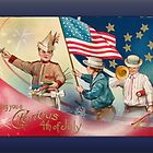 Glorious 4th of July Greetings by Yesteryears