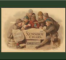 Newsboys Advertising Greetings by Yesteryears