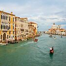 Grand Canal in Venice Italy by kirilart