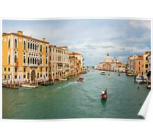 Grand Canal in Venice Italy Poster