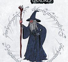 Gandalf the Grey by ChrisNeal