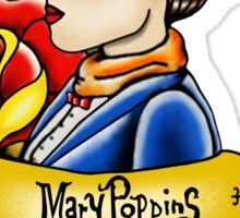 Maria Poppins lady head Sticker