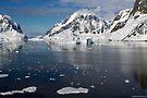Reflecting on Antarctica 016 by Karl David Hill