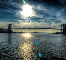 Brooklyn Bridge (Color) by Timothy Borkowski