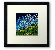 Confectionary Landscape Framed Print