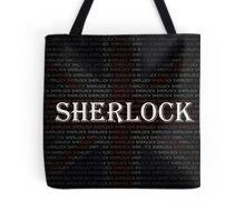 Sherlock Holmes Flag Tote Bag