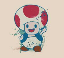 Toad (Graffiti-Style) by SFC-Guy