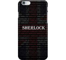 Sherlock Holmes Flag iPhone Case/Skin