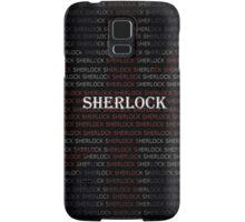 Sherlock Holmes Flag Samsung Galaxy Case/Skin