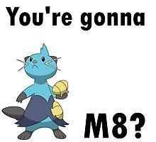 You're gonna Dewott m8? by NoFearFrogadier