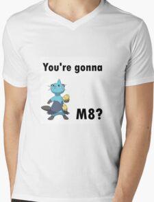 You're gonna Dewott m8? Mens V-Neck T-Shirt