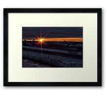 The Last Day Before The End of the World Framed Print