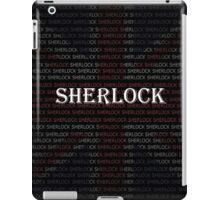 Sherlock Holmes Flag iPad Case/Skin