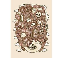 Crazy Hair Day Photographic Print
