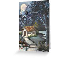 Old Village @ Night Greeting Card